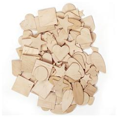 PACON WOODEN SHAPES 350 PIECES