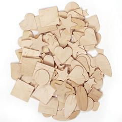 PACON WOODEN SHAPES 1000 PIECES