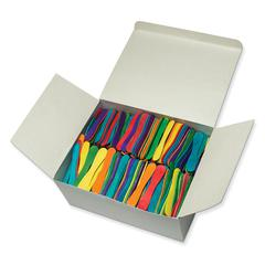 PACON CRAFT SPOONS 900 PIECES BRIGHT HUES