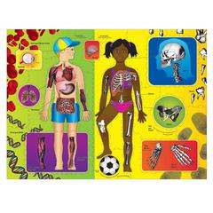 PACON WONDERFOAM GIANT OUR BODY ACTIVITY PUZZLE