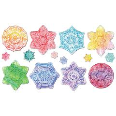 PACON SNOWFLAKE COLLECTION EMBOSSED PAPER SET