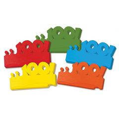 PACON MY FIRST 100 DAYS PAPER CROWNS 25PK