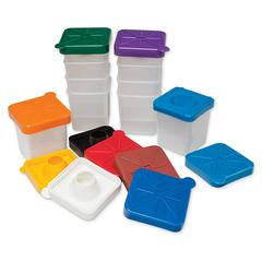 PACON NO-SPILL PAINT CUPS SQUARE
