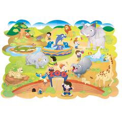 PACON GIANT ZOO ANIMALS FLOOR PUZZLE