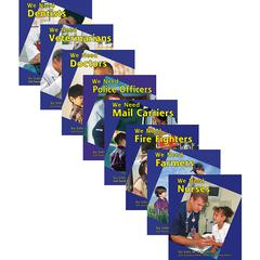 CAPSTONE / COUGHLAN PUB HELPERS IN OUR COMMUNITY BOOK SET OF 8