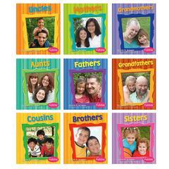 CAPSTONE / COUGHLAN PUB FAMILIES BOOKS SET OF ALL 9