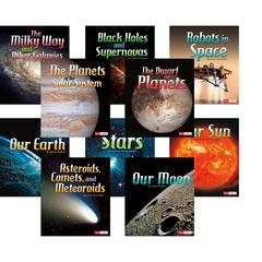 CAPSTONE / COUGHLAN PUB THE SOLAR SYSTEM & BEYOND BOOK SET OF 10