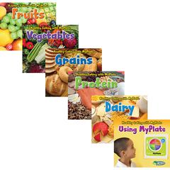 CAPSTONE / COUGHLAN PUB HEALTHY EATING WITH MYPLATE BOOK SET OF 6