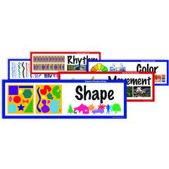 AMERICAN EDUCATIONAL PROD / CRYSTAL ELEMENTS OF ART DISPLAY CARDS