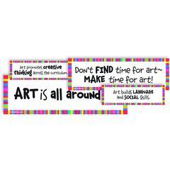 WHY WE TEACH ART DISPLAY CARDS