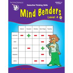THE CRITICAL THINKING MIND BENDERS BOOK 4