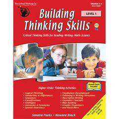 THE CRITICAL THINKING BUILDING THINKING SKILLS LEVEL 1