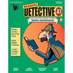 THE CRITICAL THINKING READING DETECTIVE BOOK A GR 5-6