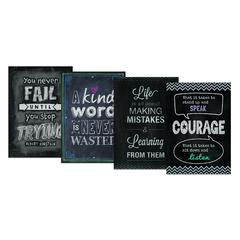 CREATIVE TEACHING PRESS INSPIRE U CHALK IT UP PACK 4