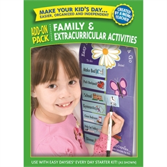 CREATIVE TEACHING PRESS EASY DAYSIES FAMILY EXTRACURRICULAR ADD ON KIT