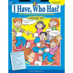 CREATIVE TEACHING PRESS LANGUAGE GR 3-4 I HAVE WHO HAS SERIES