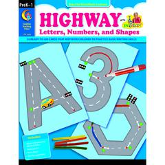 CREATIVE TEACHING PRESS HIGHWAY LETTERS NUMBERS & SHAPES GR PK-1