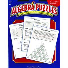 CREATIVE TEACHING PRESS ALGEBRA PUZZLES