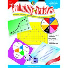CREATIVE TEACHING PRESS PROBABILITY & STATISTICS GR 5-8