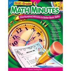 CREATIVE TEACHING PRESS FIRST-GR MATH MINUTES