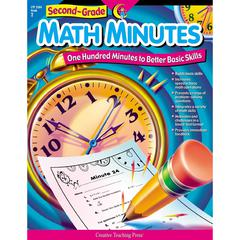 CREATIVE TEACHING PRESS SECOND-GR MATH MINUTES