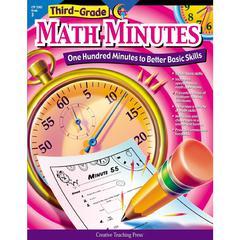 CREATIVE TEACHING PRESS THIRD-GR MATH MINUTES