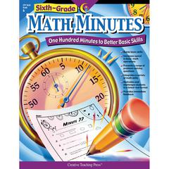 CREATIVE TEACHING PRESS SIXTH-GR MATH MINUTES