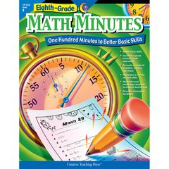 CREATIVE TEACHING PRESS MATH MINUTES - 8TH GR