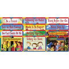 CREATIVE TEACHING PRESS CHARACTER EDUCATION 12 BOOKS VARIETY PK 1 EACH 3123-3134