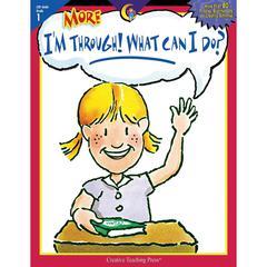 CREATIVE TEACHING PRESS MORE IM THROUGH WHAT CAN I DO GR 1