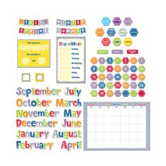 HEXAFUN CALENDAR SET BULLETIN BOARD