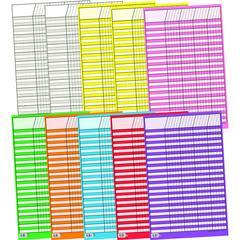 CREATIVE TEACHING PRESS CHART INCENTIVE SMALL 10-PK 14 X 22 10 COLORS