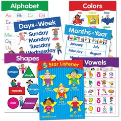CREATIVE TEACHING PRESS BASIC SKILLS 7 CHART PACK