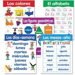 SPANISH BASIC SKILLS 5 CHART PACK