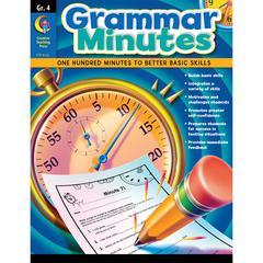CREATIVE TEACHING PRESS GRAMMAR MINUTES GR 4