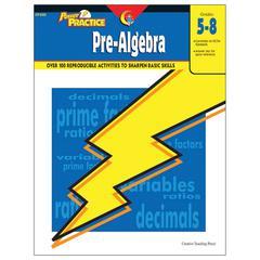 POWER PRACTICE PRE-ALGEBRA GR 5-8