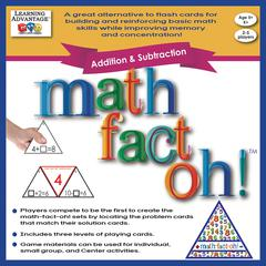LEARNING ADVANTAGE MATH FACT OH ADDITION & SUBTRACTION