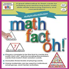 MATH FACT OH MULTIPLICATION & DIVISION