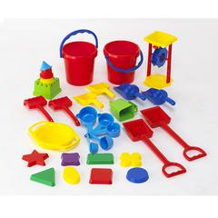 SAND PLAY TOOL SET 30PCS