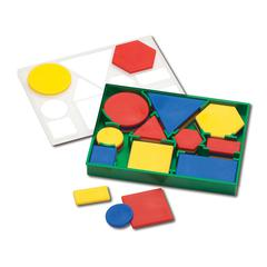 ATTRIBUTE BLOCKS PLASTIC DESK SET