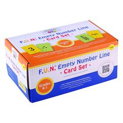 LEARNING ADVANTAGE FUN EMPTY NUMBER LINE CARDS ONLY GR K-1