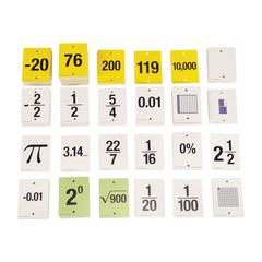 FUN EMPTY NUMBER LINE CARDS ONLY GR 6-8