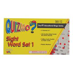 LEARNING ADVANTAGE QUIZMO SIGHT WORD SET 1