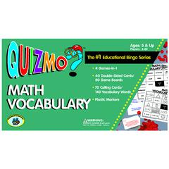 QUIZMO MATH VOCABULARY
