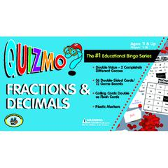 LEARNING ADVANTAGE QUIZMO FRACTIONS & DECIMALS