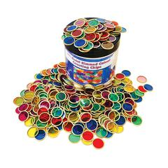 Metal Counting Chips Set Of 500