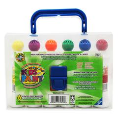 CRAFTY DAB PAINT 6 PK W/CARRYING CASE