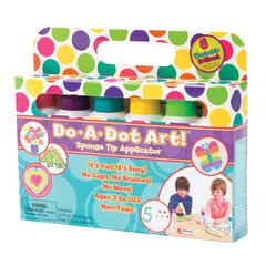 DO-A-DOT ART DO-A-DOT ART WASHABLE BRILLIANT 6PK