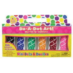 DO-A-DOT ART DO A DOT MARKERS 6PK MINI JEWEL WASHABLE TONE