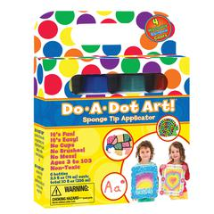 DO-A-DOT ART DO-A-DOT MARKERS 4 ASST